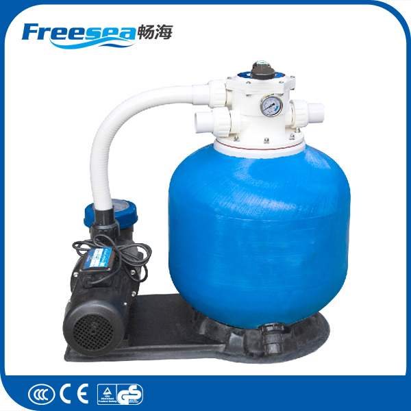 2016 FREESEA pool product standard swim spa filter pump combo