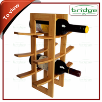 Eco-Friendly Feature and Wine Holders Buckets, Coolers & Holders Type antique wooden bamboo wine rack