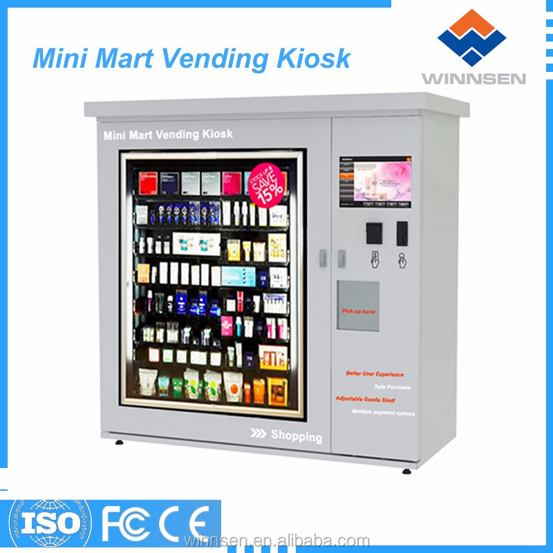 Gift/toy/shoes flexible goods channael retail vending machine