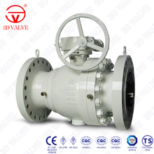 3DV low temperature Cast Steel 2 Pieces Trunnion Ball Valve