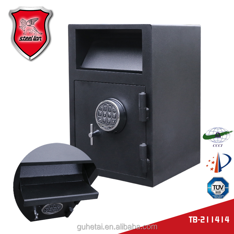 Bank used deposit safe