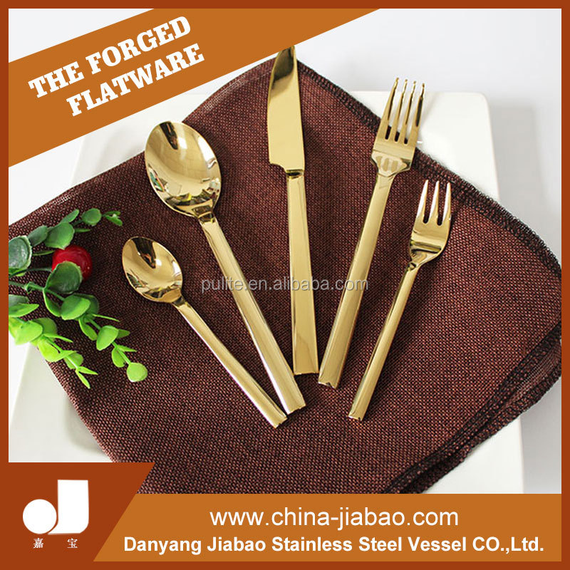 Alibaba high quality Professional supply restaurant spoon fork knife sets