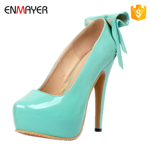 14.5cm high heel pointed-toe wedge shoes super high heel changeable high heel shoes