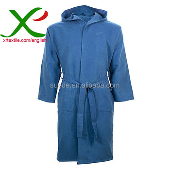 Wholesale Fashionable Microfiber Suede Spa Robe bathrobe
