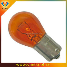 Good Quality Base Straight Pins BA15S Amber S25 Bulb