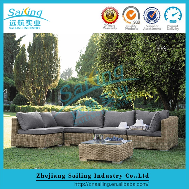 All Weather Luxury Round Wicker Rattan hd Designs Garden Outdoor Furniture