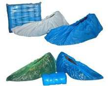 industrial consumable products Plastic shoe cover blue