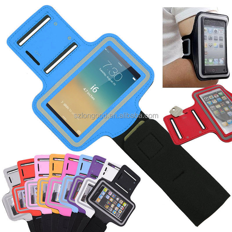 China Suppliers Jogging Sports Mobile Phone Armband Case For iPhone 6 Samsung S3 S4