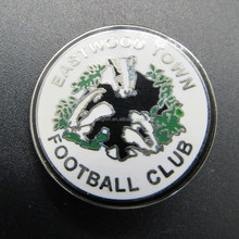 Factory wholesale imitation hard enamel football club badge