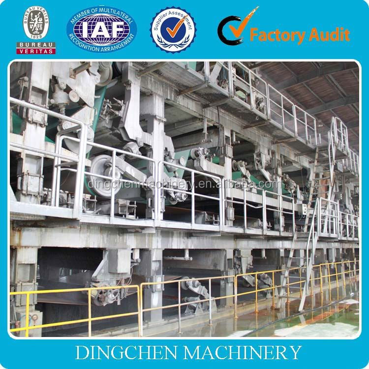 Dingchen 1800mm High Strength Carton Paper Making Machine, waste paper, cellulose,recycling machine