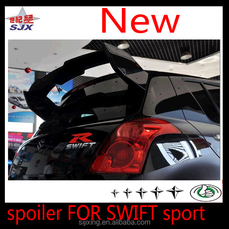 FRP CAR REAR SPOILER FOR SUZUKI SWIFT sport UNIVERSAL WITHOUT LED LAMP STYLE B AUTO REAR WING