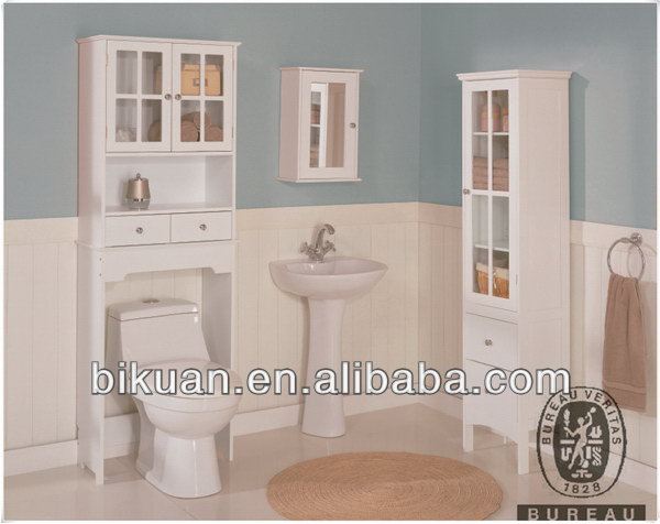Fashionable new products orange bathroom cabinet