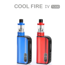 The small size box vaping products new cool fire iv high wattage adjust 100W vapor mod cheap price e cigarettes