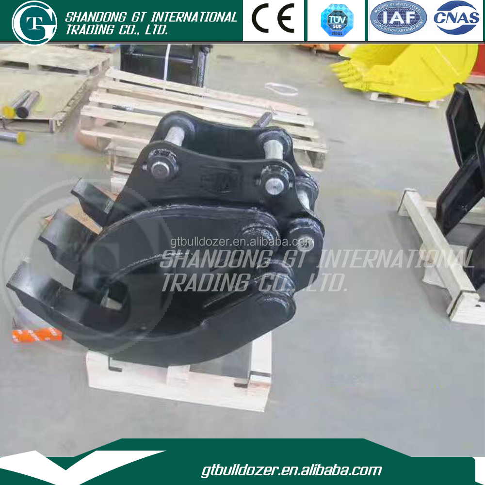 Heavy equipment spare parts Hydraulic Excavator Grapple with high quality bucket tooth