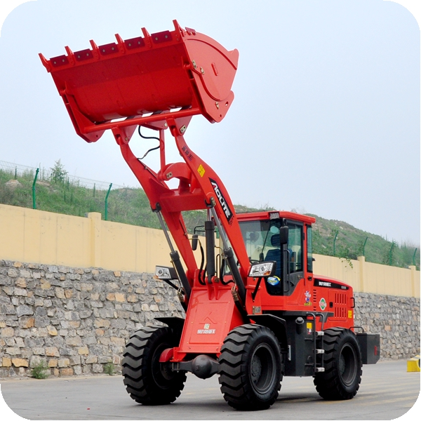 4 wheel drive small loader for construction heavy work