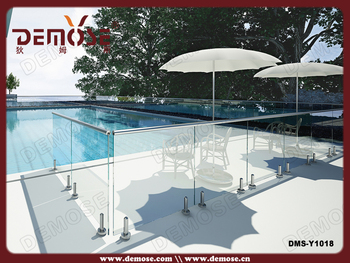 Australia pvc mesh balcony protection glass pool fence fencing buy swimming pool fence - Advantage using tempered glass fencing swimming pool balcony deck ...