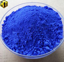 Enamel paint pigment blue sapphire synthetic iron oxide pigments color
