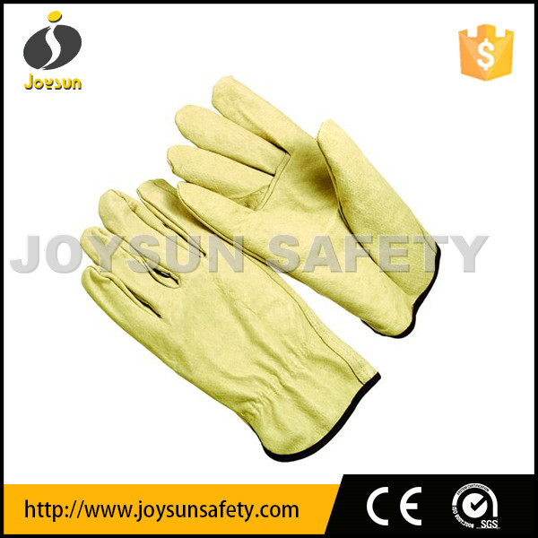 pigskin leather driver gloves