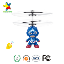 New Year Gifts Children Flying toys Infrared Induction Mini Aircraft Flashing Light Remote Toys For Kids XY-103