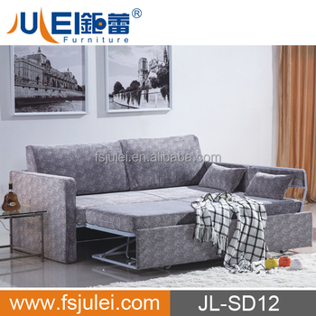 modern new fabric functional folding sofa bed JL-SD12