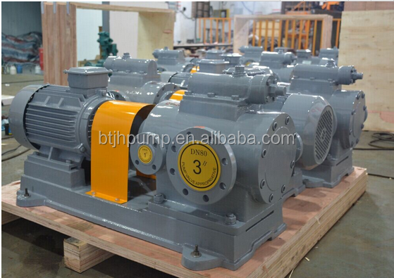 Made in China high viscosity triple screw asphalt bitumen pump, screw pump price, screw pump