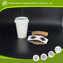 Disposable Single Wall Coffee Cup ITC Paper for Cups Take Away Costa Coffee Cup