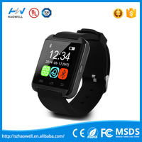 Bluetooth android smart watch dual sim smart watch u8 2015 ce rohs u8 smart watch