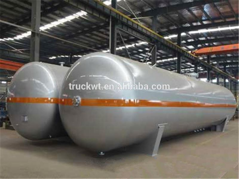 Cheaper price bulk lpg mounded storage bullet tanks