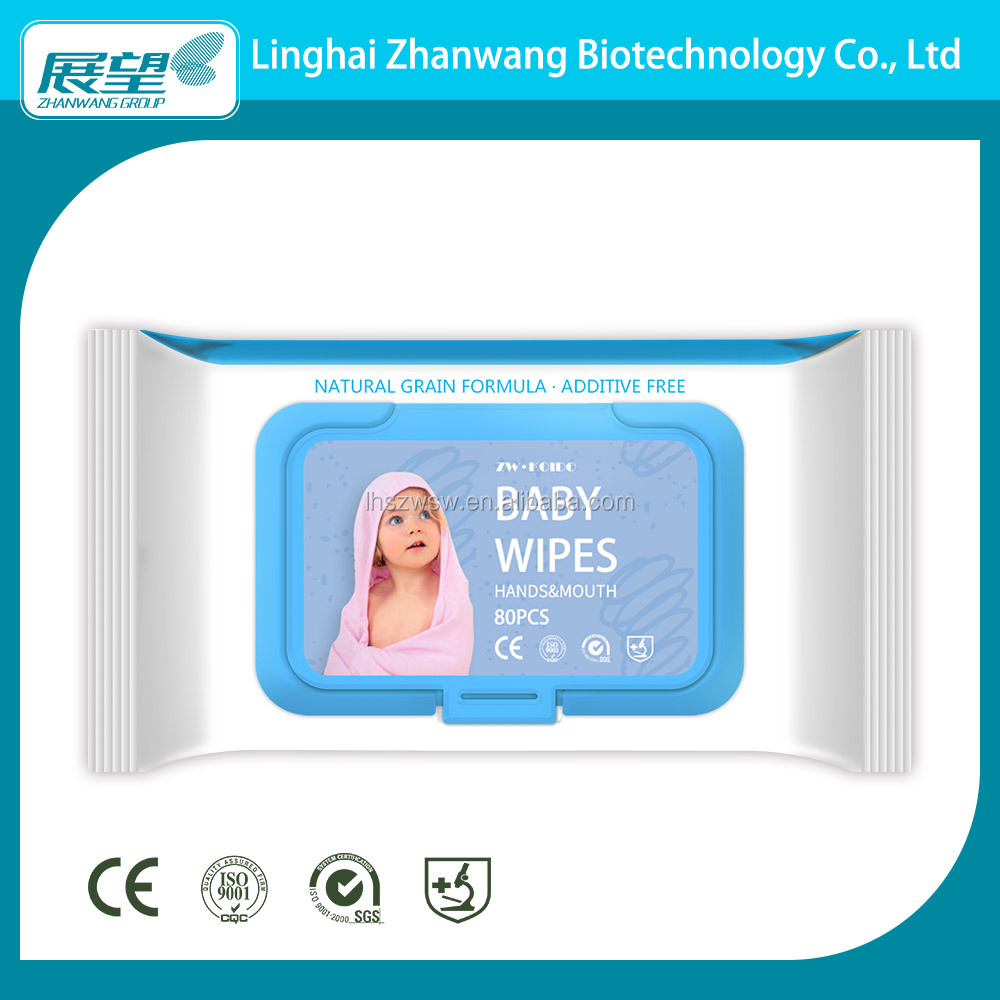 China Manufacturer Baby Wet Wipes Offers Best Baby Wipes for Very Sensitive Skin