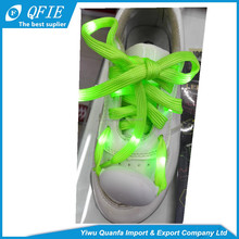 2017 wholesale Newest product cheap LED flashing shoelaces