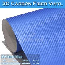 Air Channels Free 3D Carbon Fiber Bike Frame Sticker 1.52x30m