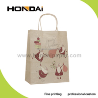 2015 Wholesale Fashion Paper Gift Shopping Bag in Packing Bags For Cheaper Chrismas Paper Bag