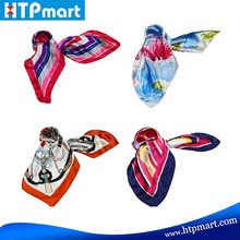 2016 Fashion customed printed silk scarf