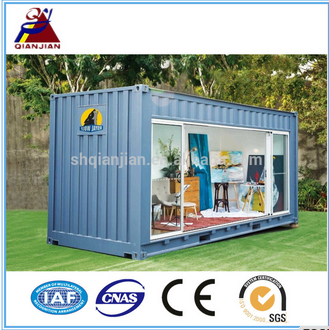 Shanghai Qianjian Folding Shipping Flat Pack Container House