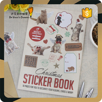 Children Cute Animals Sticker Books