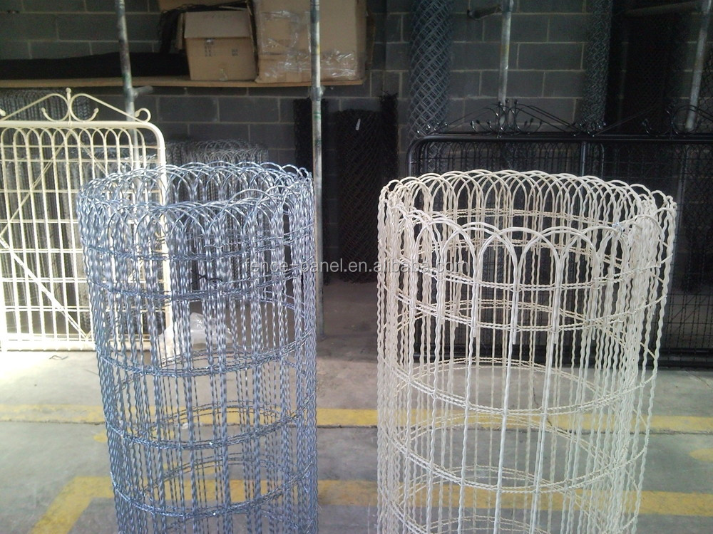 Decorative Wire Fencing : Ornamental galvanized garden woven wire fence buy