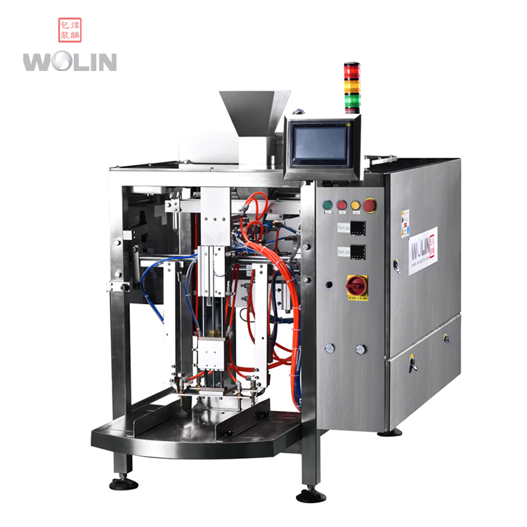 Big pouch doypack filling sealing machine for meat ball