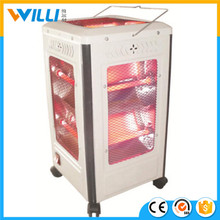 EH-QH0090L 2000W portable electric quartz infrared heater/electric room heater