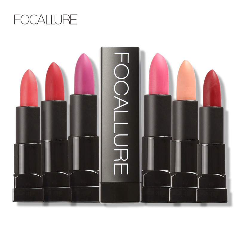FOCALLURE Pro Matte Long-lasting Waterproof Lip Cosmetics for Women Nude Lipstick