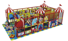kid's indoor playground plastic, animal theme equipment
