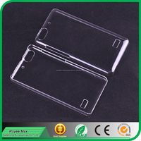 cheap wholesale transparent crystal plastic mobile phone back cover case for huawei honor 4C