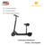 8inch electric scooter with seat AF series adult 2 wheels alloy folding scooter lithium powered