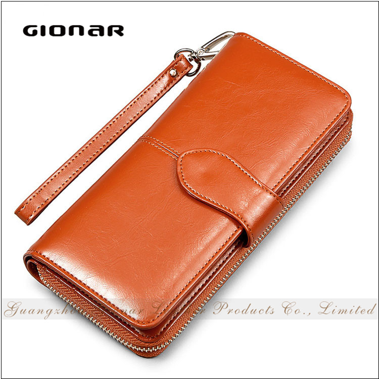 Hot Sale Waterproof Vintage Women Genuine Leather Low Price Ladies Pars Hand <strong>Wallet</strong>