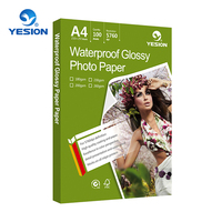 Yesion 115-260gsm A4 glossy photo paper for inkjet printing