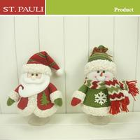 9inch Santa and Snowman Chirstmas unique candy jar