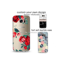 Custom design LOGO print Wholesale pc painted flower Cell Phone Case for iPhone 7/7 plus