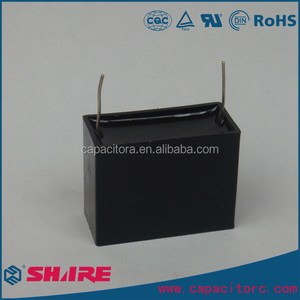 250v 450v 500v CBB61 fan motor capacitor CBB61 Black Square Capacitor