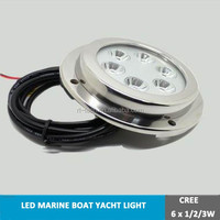 led colorful rgb led swimming pool light surface mounted underwater marine boat light
