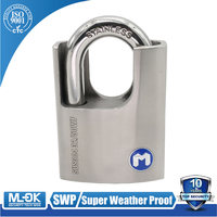 MOK@32/50WF Home balcony door stainless steel padlock