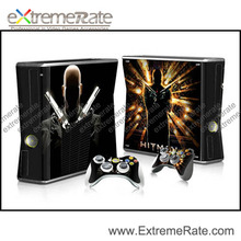 New Coming design quality replacement Skin Sticker For Xbox 360 Slim console Controller